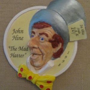 Alice In Wonderland John Hine Brooch Pin
